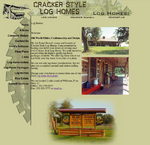 Cracker Style Log Homes